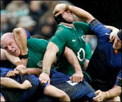 Ruolo degli avanti nel Rugby