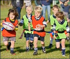 Preparazione al gioco del Rugby